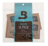 Boveda 72% RH Small 8 gram 2-Way Humidity Control 10 Pack