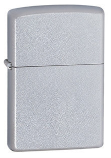 Zippo Classic Lighters Satin Chrome