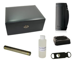 Daniel Marshal Colibri Matte Black Gift Set - Matte Black GS - Cigar Manor
