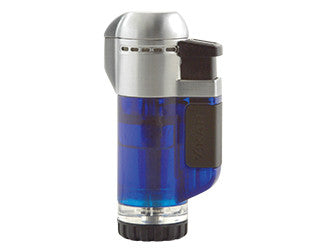 Xikar Tech Single Flame Lighter Blue
