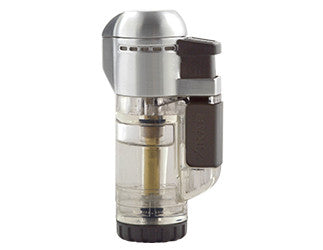 Xikar Tech Single Flame Lighter Clear