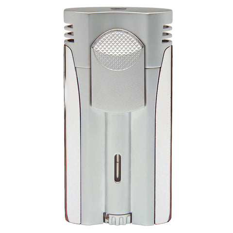 Xikar NXT Single Torch Lighter in Chrome Silver