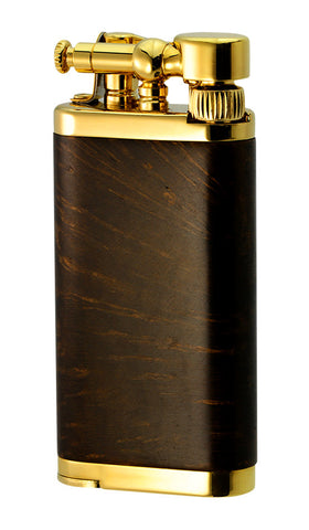 IM Corona Old Boy Dark Stained Briarwood with Gold Lighter