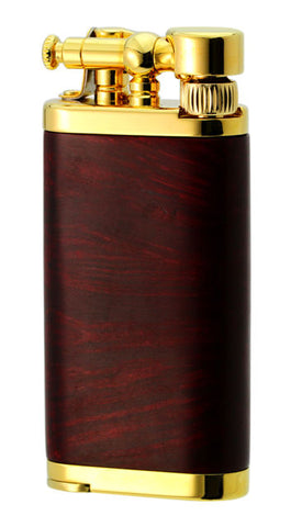 IM Corona Old Boy Gold Plate Polished Red Briar Wood