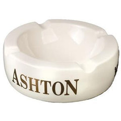 Ashton Large White Round Ashtray