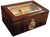 Ambassador 100 Cigar Humidor with Beveled Glass Top and External Hygrometer