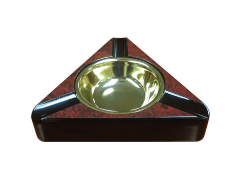 Triangular Porcelain Ashtray