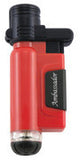 Blazer Ambassador Lighter Red - AMBBLZR_RED - Cigar Manor