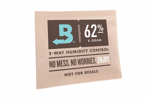 Boveda 62% RH Small 8 gram 2-Way Humidity Control 10 Pack
