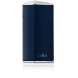Colibri Diamond Single Jet Flame Lighter Metallic Blue - C10005LI - Cigar Manor