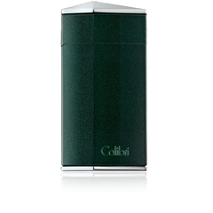 Colibri Diamond Single Jet Flame Lighter Metallic Green - C10005LI - Cigar Manor