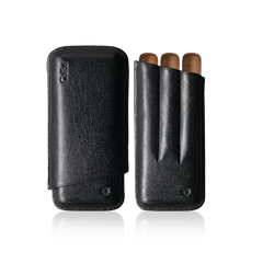 Colibri Corona Leather Cigar Case - C10021CC - Cigar Manor
