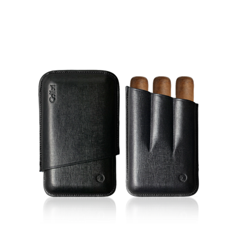 Colibri Robusto Leather Cigar Case