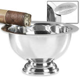 Stinky Ashtray - Stainless Personal Size - CA-ST-1 - Cigar Manor
