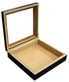 Chateau 20 Cigar Humidor with Glass Top - CHATUG - Cigar Manor