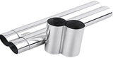 2 Cigar Tube, Stainless - CT2-S - Cigar Manor