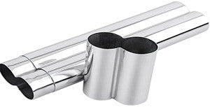 2 Cigar Tube, Stainless