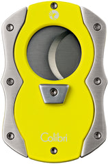 Colibri Cut Cigar Cutter Yellow Rubber + Satin - CU100T005 - Cigar Manor
