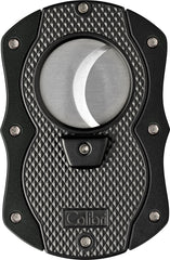 Colibri Monza Cut Cigar Cutter Black - CU200T001 - Cigar Manor