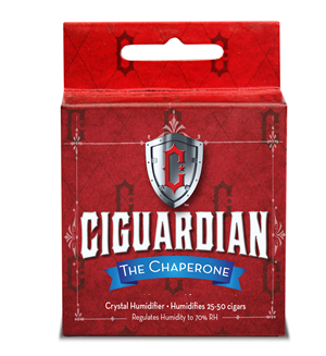 Ciguardian Small Chaperone Humidifier - Up to 50 Cigars