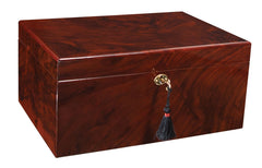 Classic Savoy Humidor Walnut Medium - 50 Cigars
