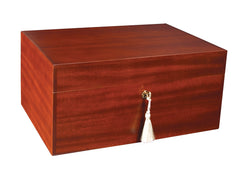 Savoy Executive Series Humidor Matte Mahogany Medium- 50 Cigars
