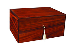 Savoy Executive Series Humidor with Boveda Santos Rosewood Medium - 50 Cigars - HSAESSRM - Cigar Manor