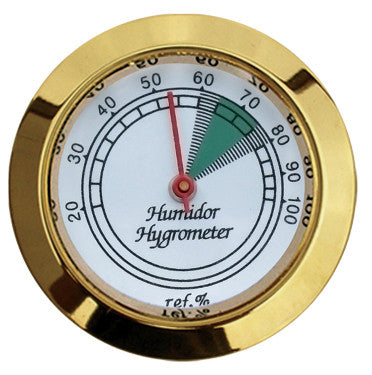Analog Brass Hygrometers