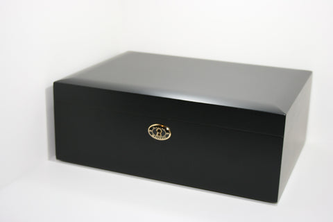 Daniel Marshall 20125 Series 125 Count Humidor - Piano Black