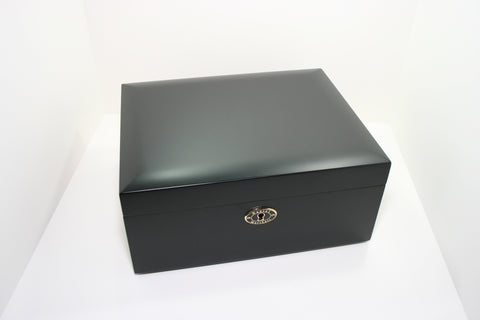 Daniel Marshall 20065 Series 65 Count Humidor in Matte Black