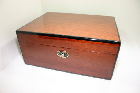 Daniel Marshall 30100 Series 100 Count Humidor in Cocobolo Rosewood