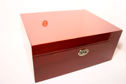Daniel Marshall 30100 Cigar Humidor in Rosewood with Tray