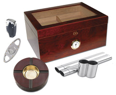 Milano 100 Cigar Humidor Kits - KIT-HUM-75DRG - Cigar Manor