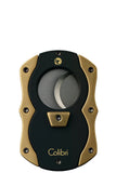 Colibri Cut Cigar Cutter Black + Satin Gold - KNF600010 - Cigar Manor