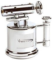 Vector Mega-Pump 2C Hi-Polish Chrome - Megapump_2C - Cigar Manor