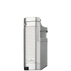 Colibri Tribeca II Triple Torch Lighter Silver Chrome - QTR415012 - Cigar Manor
