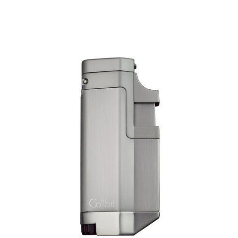 Colibri Tribeca II Triple Torch Lighter Brushed Chrome
