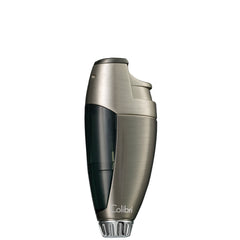 Colibri Talon Lighter Gunmetal Satin Chrome Smoke Translucent - QTR761011 - Cigar Manor