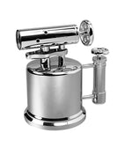 Vector QuadPump 2C Hi-Polish Chrome High Power Torch Lighter