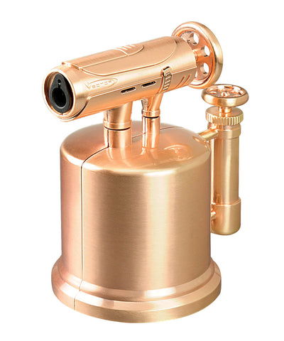 Vector Sonic Pump 03 Rose Gold Satin High Power Torch Lighter