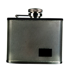 Savoy Crisscross Flask 4oz - GSAFCC4 - Cigar Manor