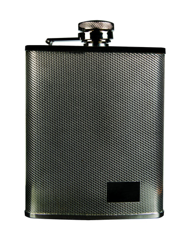 Savoy Crisscross Flask 6oz