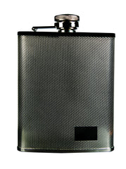 Savoy Crisscross Flask 6oz - GSAFCC6 - Cigar Manor