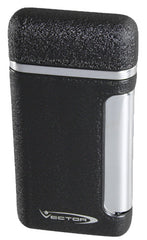 Vector Tilt 05 Black Cracke Matte Lighter - Tilt_05 - Cigar Manor