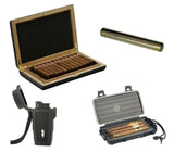 Adorini Avellino Travel Humidor Gift Set - CM Adorini Trvl GS - Cigar Manor
