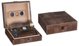 Alligator 25 Cigar Humidor Gift Kits - ALG/BRN - Cigar Manor