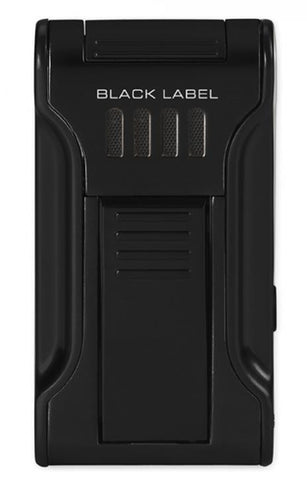 BLACK LABEL Dictator Flat Torch Lighter Black Matte