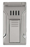 BLACK LABEL Dictator Flat Torch Lighter Polished Chrome - LBL80010 - Cigar Manor