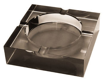 Crystal Cigar Ashtray (tinted)