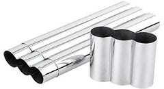 3 Cigar Stainless Tubes - CT-3S - Cigar Manor